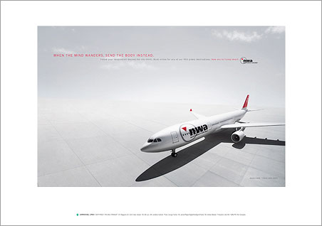 Georg Fischer Fotograf Photographer - Menu / Campaign / Northwest Airlines  - Northwest Airlines for Carmichael Lynch, USA, AD: Hans Hansen