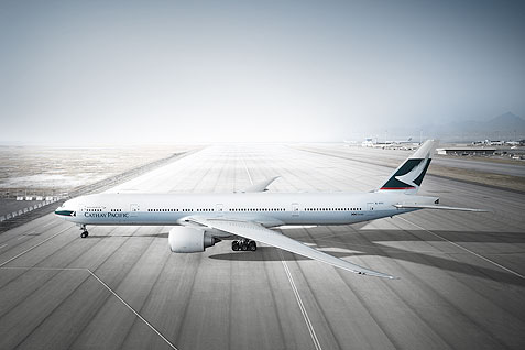 Georg Fischer Fotograf Photographer - Menu / Portfolio / Transportation  - Cathay Pacific for McCann-Erickson, Hongkong,  CD: Sylvester Song