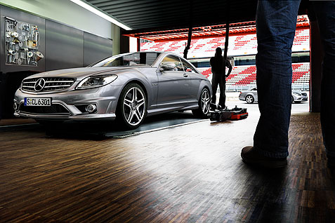 Georg Fischer Fotograf Photographer - Menu / Portfolio / CGI  - Mercedes CL for Springer & Jacoby, CD: Kai Grützmacher