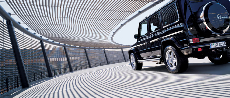 Georg Fischer Fotograf Photographer - Menu / Portfolio / Cars/Architecture  - Mercedes G-Klasse for E-Fact UK, AD: Alex Beulke + Tim Cole