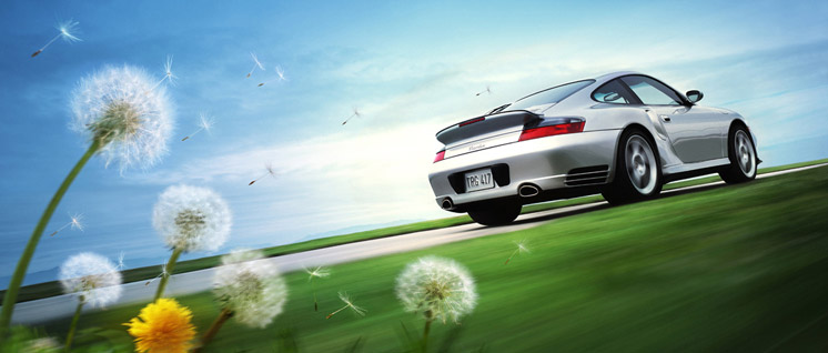 Georg Fischer Fotograf Photographer - Menu / Portfolio / Cars/Action I  - Porsche USA for Carmichael Lynch, AD: Hans Hansen