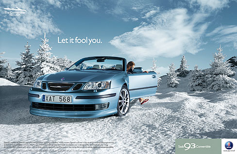 Georg Fischer Fotograf Photographer - Menu / Portfolio / Cars/Landscape  - Saab for Lowe Brindfors, AD: Michael Fox